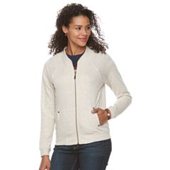 Women's Lee Zip-Front Bomber Jacket