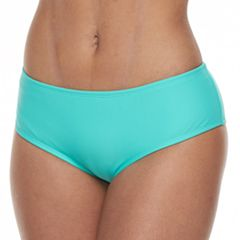 Mix and Match Solid Cheeky Hipster Bikini Bottoms