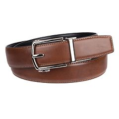 Men's Dockers® Track Lock Leather Belt