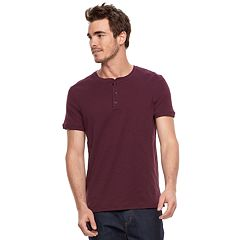Men's Apt. 9® Modern-Fit Slubbed Henley