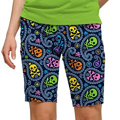 Women's Loudmouth Printed Golf Bermuda Short