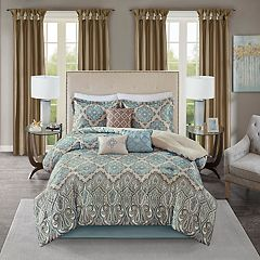 Madison Park 7 pc Miranda Comforter Set