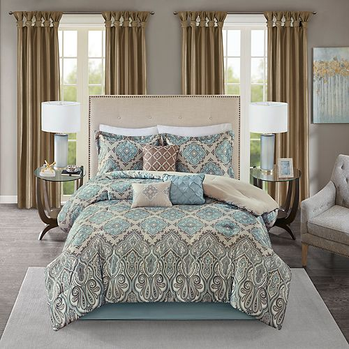 68d00ca36b Madison Park 7-piece Miranda Comforter Set