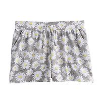Girls 7-16 SO® Gathered Front Shorts