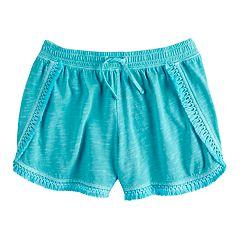 Girls 7-16 SO® Tassel Fringe Soft Shorts