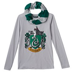 Girls 7-16 Hogwarts House Scarf Tee
