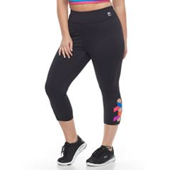 Plus Size FILA SPORT® Activate Crisscross Capri Leggings