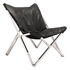 Zuo Modern Faux-Leather Folding Chair
