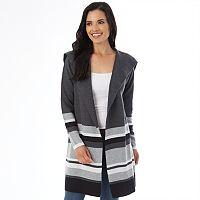 Women's Apt. 9® Car Coat Sweater
