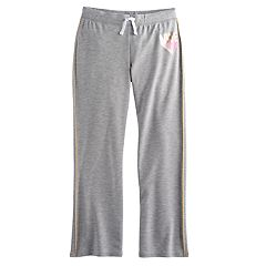 Girls 7-16 SO® Striped Athletic Pants