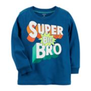 "Toddler Boy Carter's ""Super Big Bro"" Graphic Tee"