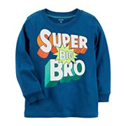 Toddler Boy Carter's 'Super Big Bro' Graphic Tee
