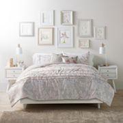 LC Lauren Conrad Pale Blossoms Comforter Set