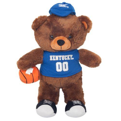 Forever Collectibles Kentucky Wildcats Locker Buddy Teddy Bear Set