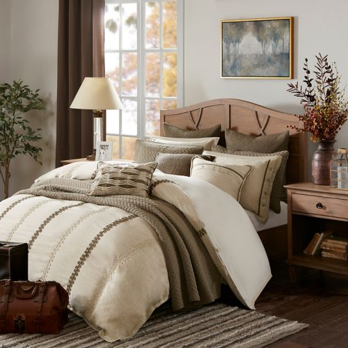 kohls bedroom furniture park signature chateau comforter set 12046