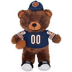 Forever Collectibles Chicago Bears Locker Buddy Teddy Bear Set
