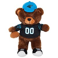 Forever Collectibles Carolina Panthers Locker Buddy Teddy Bear Set