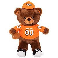 Forever Collectibles Denver Broncos Locker Buddy Teddy Bear Set