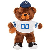 Forever Collectibles Dallas Cowboys Locker Buddy Teddy Bear Set