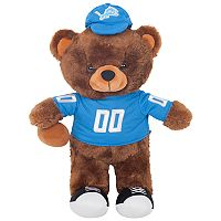 Forever Collectibles Detroit Lions Locker Buddy Teddy Bear Set