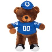 Forever Collectibles Indianapolis Colts Locker Buddy Teddy Bear Set