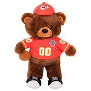 Forever Collectibles Kansas City Chiefs Locker Buddy Teddy Bear Set