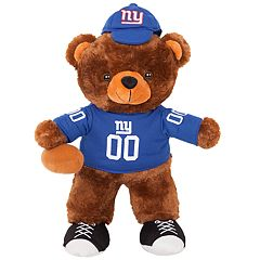 Forever Collectibles New York Giants Locker Buddy Teddy Bear Set