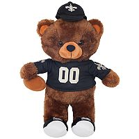Forever Collectibles New Orleans Saints Locker Buddy Teddy Bear Set