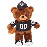 Forever Collectibles Oakland Raiders Locker Buddy Teddy Bear Set