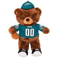 Forever Collectibles Philadelphia Eagles Locker Buddy Teddy Bear Set