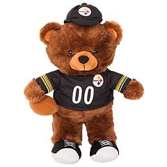 Forever Collectibles Pittsburgh Steelers Locker Buddy Teddy Bear Set