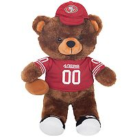 Forever Collectibles San Francisco 49ers Locker Buddy Teddy Bear Set