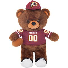 Forever Collectibles Washington Redskins Locker Buddy Teddy Bear Set