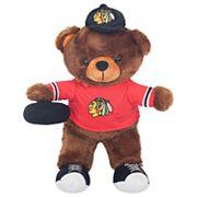 Forever Collectibles Chicago Blackhawks Locker Buddy Teddy Bear Set