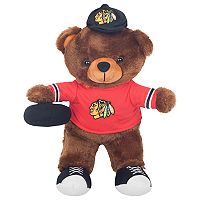 Forever Collectibles Chicago Blackhawks Locker Buddy Teddy Bear Set