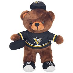 Forever Collectibles Pittsburgh Penguins Locker Buddy Teddy Bear Set
