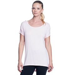 Women's Gaiam Violet Short Sleeve Yoga Tee