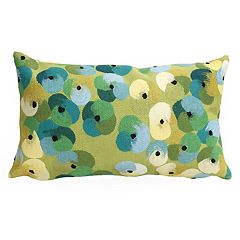 Liora Manne Visions II Pansy Indoor Outdoor Oblong Throw Pillow