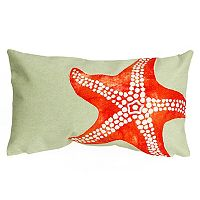 Liora Manne Visions II Starfish Indoor Outdoor Oblong Throw Pillow