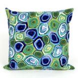 Liora Manne Visions III Murano Swirl Indoor Outdoor Throw Pillow