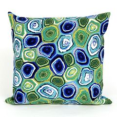 Liora Manne Visions III Murano Swirl Indoor Outdoor Throw Pillow