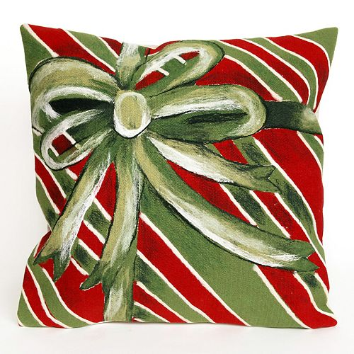 Liora Manne Visions III Gift Box Indoor Outdoor Throw Pillow