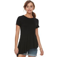 Women's Apt. 9® Asymmetrical Tunic Tee