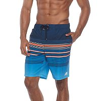 Men's ZeroXposur Guard Patterned Stretch Swim Trunks
