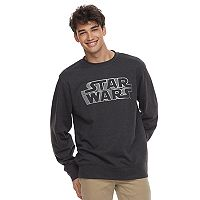 Men's Star Wars Logo Crew Fleece