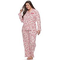Plus Size Croft & Barrow® Knit Pajama Set
