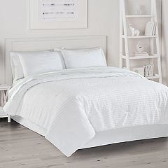 The Big One® Pucker Stripe Bed Set