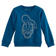 Disney's Donald Duck Boys 4-7x Softest Fleece Pullover Sweatshirt by Jumping Beans®