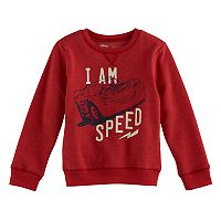 Disney / Pixar Cars Boys 4-7x Lightning McQueen Softest Fleece Pullover Sweatshirt by Jumping Beans®