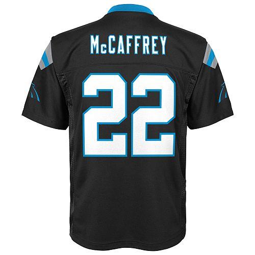 the best attitude 4f50e 5ba99 Boys 8-20 Carolina Panthers Christian McCaffrey Replica ...